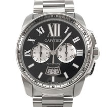 Cartier Calibre de Cartier Chronograph gebraucht 42mm Schwarz