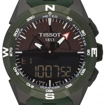 Tissot Ceramic Chronograph Black 45mm new T-Touch Expert Solar