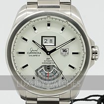 TAG Heuer Grand Carrera Stål 42.5mm Sølv