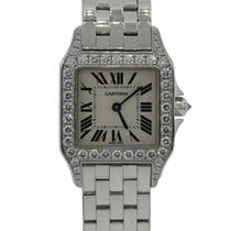 Cartier Santos Demoiselle White gold 26mm Silver United States of America, California, Los Angeles