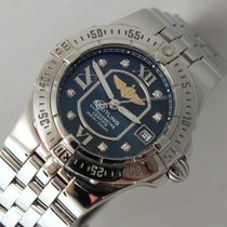 Breitling Galactic 30 Steel 31mm Blue Roman numerals