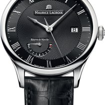 Maurice Lacroix new Automatic Guilloché dial Power Reserve Display 40mm Steel