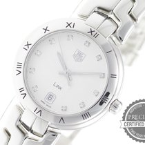 TAG Heuer Link Lady Steel 34.5mm Silver No numerals