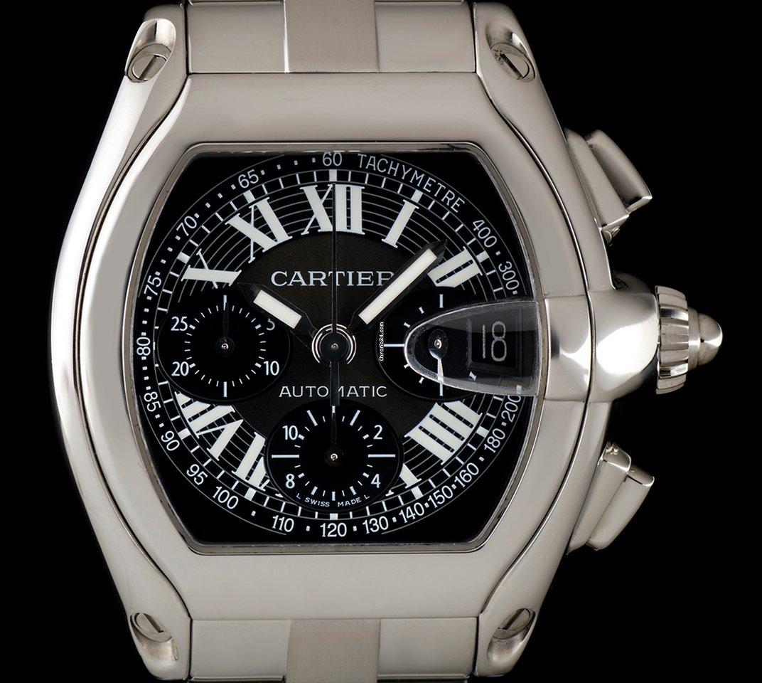 73ba27eda8a Cartier Roadster - Todos os preços de relógios Cartier Roadster na Chrono24