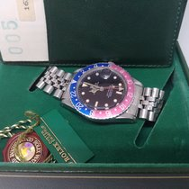 Rolex GMT-Master 16750 - PEPSI - 1987 - FULL SET WITH WARRANTY