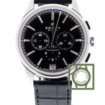 Zenith Captain El Primero Chronograph 42mm black dial new