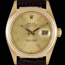 Rolex Datejust Gents Gold 16018