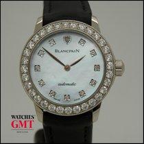 Blancpain Leman Ultraslim Factory Diamonds & Mother of Pearl...
