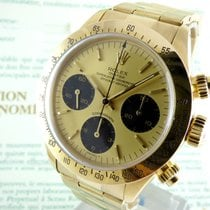 Rolex Daytona  Gold  R-Series Box & Certificate  -- unpolished --