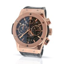 Hublot Classic Fusion Aerofusion - 18K Rose Gold - Box & Papers