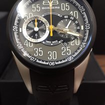 Bomberg Steel 44mm Quartz NS44CHTT new