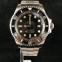 Rolex Sea-Dweller Deepsea Staal 44mm Zwart Geen cijfers Nederland, Leiden