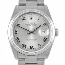 Rolex 16200_used_silver_roman Datejust 36mm in Steel with...