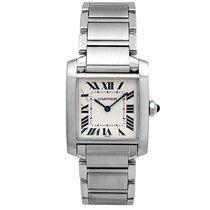 Cartier Tank Française new Quartz Watch with original box and original papers wsta0005
