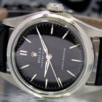 Rolex 31mm Manual winding 1952 pre-owned Black