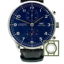 IWC Portuguese Chronograph nieuw 41mm Staal