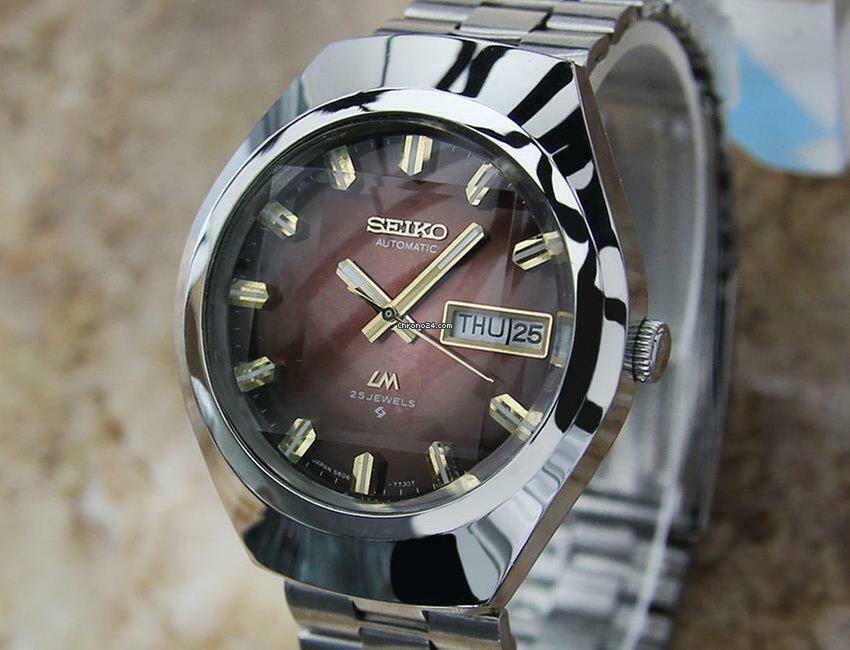 Seiko Vintage Seiko LM Lord Matic 5606 7360 Automatic Made in... eladó 341  847 Ft Trusted Seller státuszú eladótól a Chrono24-en 4f07c2e08d