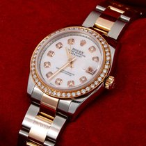 Rolex Lady-Datejust 178241 Very good Gold/Steel 31mm Automatic