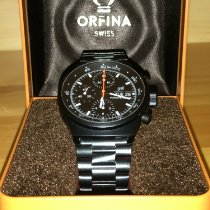 Orfina Steel 40mm Automatic 7750 pre-owned