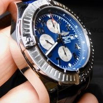 Breitling Super Avenger Steel 48mm Blue Arabic numerals United States of America, North Carolina, Winston Salem