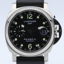 Panerai Luminor GMT Automatic Acero 44mm Negro Árabes España, Barcelona