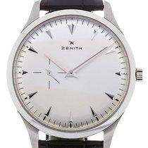 Zenith Elite Ultra Thin Steel 40mm Silver