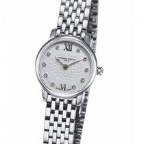 Frederique Constant Slimline Mini new Quartz Watch with original box and original papers FC-200WHDS6B