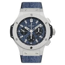 Hublot Big Bang Jeans Acél 44mm Kék