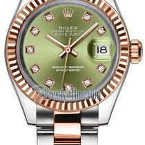 Rolex Lady-Datejust Gold/Steel 28mm Green United States of America, New York, Airmont