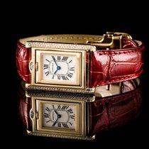 Cartier Quarz neu Champagnerfarben