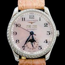 Longines Master Calendar Diamonds Lady