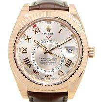 Rolex Sky-dweller 18k Rose Gold Pink Automatic 326135PK