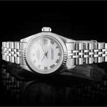 Rolex Lady Datejust (26mm) Ref.: 69174 in Edelstahl mit weißem...