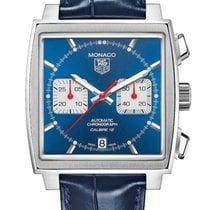 TAG Heuer Monaco Calibre 12 Steel 39mm Blue No numerals United Kingdom, London