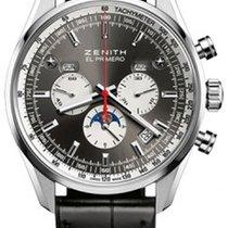 Zenith El Primero 410 Complete Calendar Moonphase 42mm Mens Watch