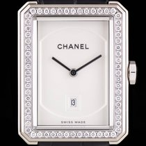 Chanel Boy Friend White Gold Ladies Dress Watch