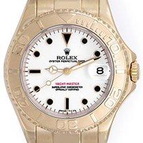 Rolex Yacht - Master Midsize Men's/Ladies 18k Gold Watch 68628