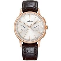 Zenith Elite Chronograph Classic Rose gold 42mm Silver United States of America, Pennsylvania, Holland
