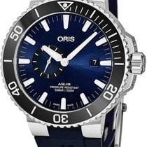 Oris Aquis Small Second 74377334135RS65 new