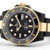 Rolex 40mm TT Ceramic PVD/DLC Submariner Black Dial - 116613