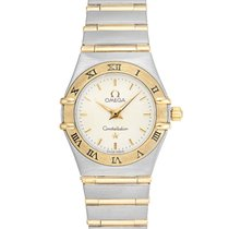 Omega Constellation Gold/Steel 24mm Silver