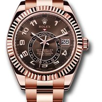 Rolex Sky-Dweller Rose gold 42mm Brown United States of America, New York, New York