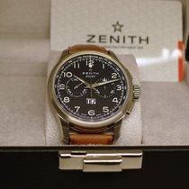 Zenith El Primero Big Date Special Steel 42mm Black Arabic numerals