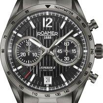 Roamer Chronograph 43mm Quarz neu Schwarz