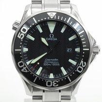 오메가 Seamaster Diver 300 M 스틸 41mm 검정색 숫자없음