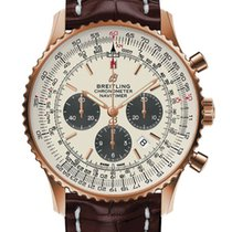 Breitling Red gold Automatic Silver 46,00mm new Navitimer 01 (46 MM)