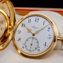 Longines Pocket Watch 14K savonette Solid Gold 1922