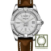 Breitling Galactic 32 Stahl 32mm Silber