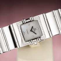 Omega Constellation Ladies pre-owned 19mm Mother of pearl Steel