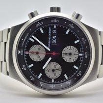 Eterna Chronograph 40mm Automatik 2003 gebraucht Schwarz